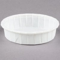 Solo SCC100S 1 oz. Squat Paper Souffle / Portion Cup - 5000/Case