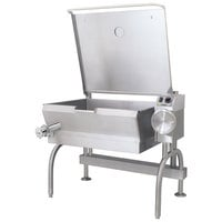 Cleveland SEL-30-T1 30 Gallon PowerPan Electric Open Base Tilt Skillet - 208V, 3 Phase, 12 kW