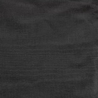 Intedge Black Vinyl Table Cover with Flannel Back, 25 Yard Roll