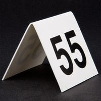 GET NUM-51-75 Numbers 51 Through 75 Table Tent Number