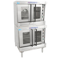 Bakers Pride BCO-E2 Cyclone Series Double Deck Full Size Electric Convection Oven - 220-240V, 1 Phase, 21 kW