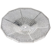 Tellier 42573-91 1/16 inch Replacement Sieve / Cutting Plate for #3 Food Mill