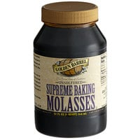 Golden Barrel 1 Qt. Sulfur-Free Supreme Baking Molasses - 12/Case