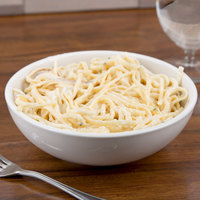 CAC REC-80 25 oz. Ivory (American White) Rolled Edge China Pasta Bowl - 24/Case