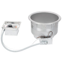 APW Wyott SM-50-11 UL 208/240HP 11 Qt. Round Drop In Soup Well with UL Electrical Kit - 208/240V