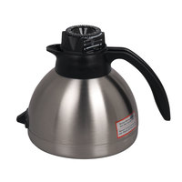 Bunn 43002.0000 64 oz. Stainless Steel Thermal RFID Carafe with Black Handle