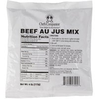 Chef's Companion 4 oz. Au Jus Mix - 12/Case