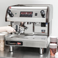 Cecilware ESP1-220V Venezia II One Group Espresso Machine 240V