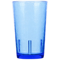 Cambro D8608 Del Mar 8 oz. Sapphire Blue Customizable SAN Plastic Tumbler - 36/Case
