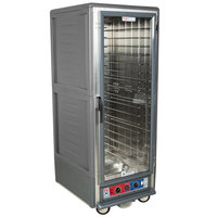 Metro C539-CFC-4-GY C5 3 Series Heated Holding and Proofing Cabinet with Clear Door - Gray