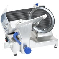 Vollrath 40952 12 inch Heavy Duty Meat Slicer with Safe Blade Removal System - 1/2 hp