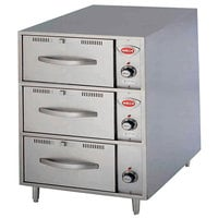 Wells RWN3 3 Drawer Narrow Freestanding Warmer - 120V