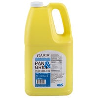 AAK Oasis 1 Gallon Pan & Grill Cooking Oil - 6/Case