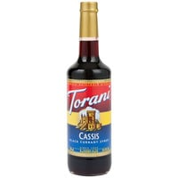 Torani 750 mL Cassis Flavoring / Fruit Syrup