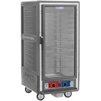 Metro C537-MFC-U-GY C5 3 Series Heated Holding and Proofing Cabinet with Clear Door - Gray