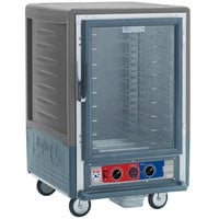 Metro C535-MFC-U-GY C5 3 Series Heated Holding and Proofing Cabinet with Clear Door - Gray