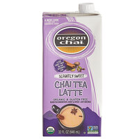 Oregon Chai 32 fl. oz. Organic Slightly Sweet Chai Tea Latte 1:1 Concentrate