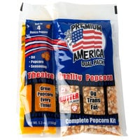 Great Western Premium America All-In-One Popcorn Kit for 4 oz. Popper - 48/Case