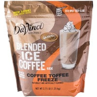 DaVinci Gourmet 2.75 lb. Ready to Use Coffee Toffee Freeze Mix
