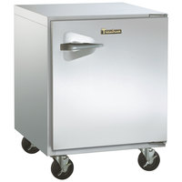 Traulsen ULT27-R-SB 27 inch Undercounter Freezer with Right Hinged Door and Stainless Steel Back
