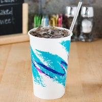 Solo RP16P-00055 Jazz 16-18 oz. Poly Paper Cold Cup - 1000/Case