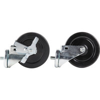 Traulsen CASTER-5SET4 6 inch Swivel Casters for 27 inch, 32 inch, and 48 inch U-Series Refrigerators and Freezers - 4/Set