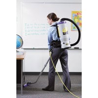 ProTeam 107113 6 Qt. Super QuarterVac HEPA Backpack Vacuum Cleaner with 107099 Xover Performance Floor Tool Kit C - 120V