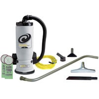 ProTeam 106542 6 Qt. AviationVac Transportation Backpack Vacuum with 106502 Aviation Floor Tool Kit #1
