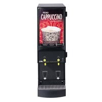 Curtis Cafe Series Primo PC2 Two Station Cappuccino Machine with Two 4 lb. Hoppers and Sign - 120V