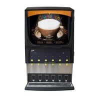 Curtis PCGT6 Primo Cappuccino Dispenser with Six Hoppers - 120V