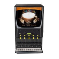 Curtis PCGT5300 Primo Cappuccino Dispenser with Five Hoppers and Garage Door - 120V