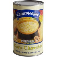 Chincoteague 51 oz. Condensed Corn Chowder - 6/Case