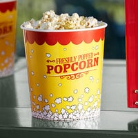 Carnival King 130 oz. Popcorn Bucket - 25/Pack