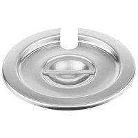 Vollrath 78160 Stainless Steel Slotted Cover for 4.12 Qt. Inset