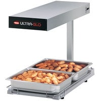 Hatco UGFFBL Ultra-Glo Portable Food Warmer with Heated Base and Lights