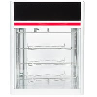 Hatco FSD-1 Flav-R-Savor Humidified Hot Food Holding & Display Cabinet With 3 Tier Circle Rack