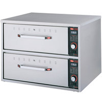Hatco HDW-2 Freestanding Two Drawer Warmer - 120V, 900W