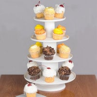 Wilton 307-856 Collapsible Dessert Display Stand - 4 Tiers