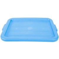 Vollrath 1522-C04 Traex® Color-Mate Blue Recessed Food Storage Box Lid - 20 inch x 15 inch