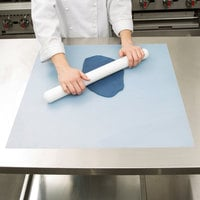 Ateco 699 24 inch x 24 inch Non-Stick Silicone Baking Work Mat with Measurements
