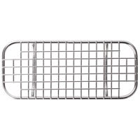 Vollrath 74300 1/3 Size Stainless Steel Wire Cooling Rack / Pan Grate for Super Pan 3