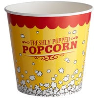 Carnival King 170 oz. Popcorn Bucket - 25/Pack