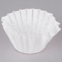 Bunn 20106.0000 8 1/2 inch x 3 inch 8 to 10 Cup Decanter Style Coffee Filter - 1000/Case