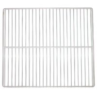 All Points 26-2658 White Epoxy Coated Wire Shelf - 25 inch x 20 inch