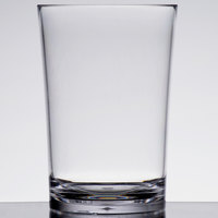 Carlisle 4362507 Liberty 18 oz. Plastic Double Rocks / Old Fashioned Glass - 24/Case