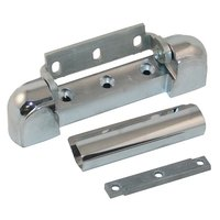 Kason® 10217000012 5 3/4 inch x 1 1/8 inch Edge Mount Door Hinge with 1 3/8 inch Offset