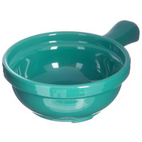 Carlisle 700609 Meadow Green 8 oz. Handled Soup Bowl - 24/Case