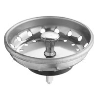 Regency 3 1/2 inch Basket Strainer - Fixed Post