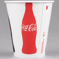 Solo RP2SCB-K1038 Coke® 12 oz. Poly Paper Cold Cup - 2000/Case
