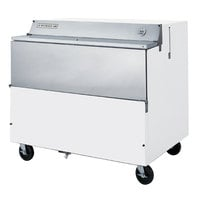 Beverage-Air SMF49HC-1-W 49 inch White 1-Sided Forced Air Milk Cooler